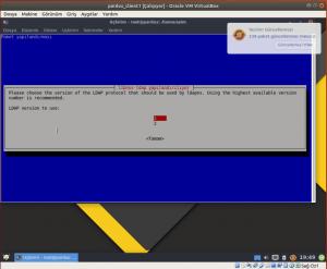 Ldap server versiyon seçimi